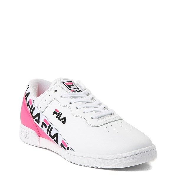 alternate view Womens Fila Original Fitness Tape Athletic ShoeALT1