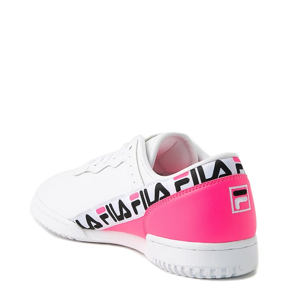 alternate view Womens Fila Original Fitness Tape Athletic ShoeALT2