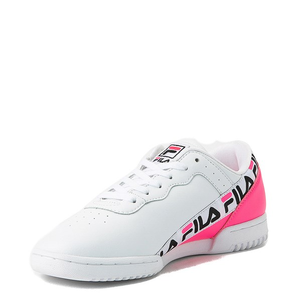 alternate view Womens Fila Original Fitness Tape Athletic ShoeALT3