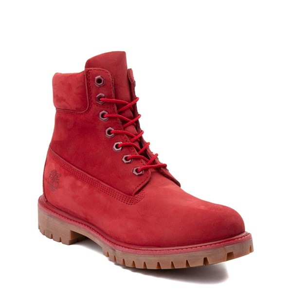 "Alternate view of Mens Timberland 6"" Classic Boot - Red"