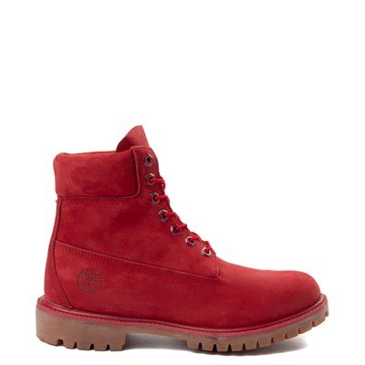 "Main view of Mens Timberland 6"" Classic Boot - Red"