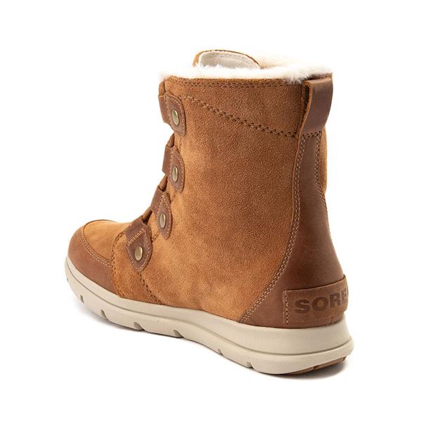 alternate view Womens Sorel Explorer™ Joan Boot - Camel BrownALT1