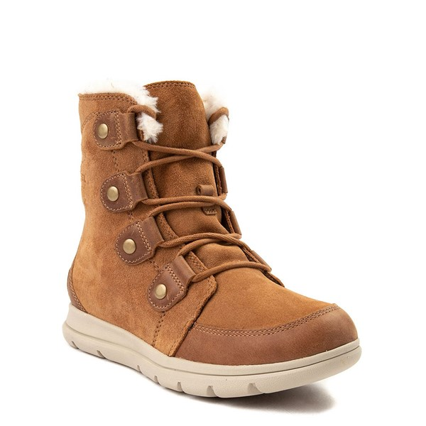alternate view Womens Sorel Explorer™ Joan Boot - Camel BrownALT1