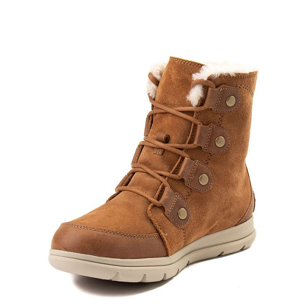 alternate view Womens Sorel Explorer™ Joan Boot - Camel BrownALT3