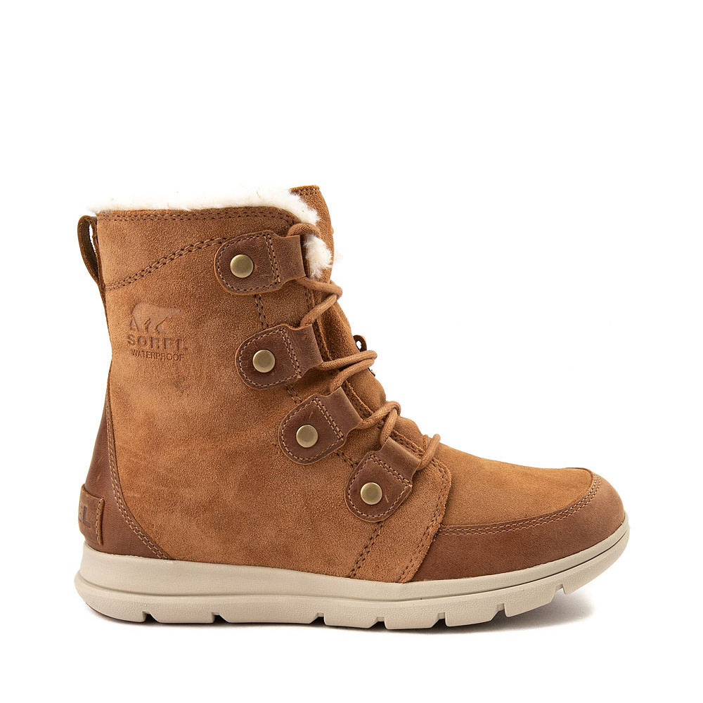 Womens Sorel Explorer™ Joan Boot - Camel Brown