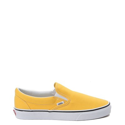 Main view of Spectra Yellow Vans Slip On Skate Shoe