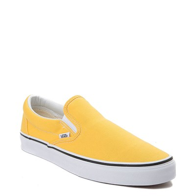 Alternate view of Spectra Yellow Vans Slip On Skate Shoe