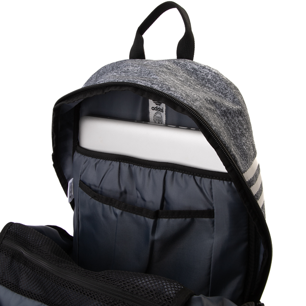 alternate view adidas National Backpack - Heather GrayALT3