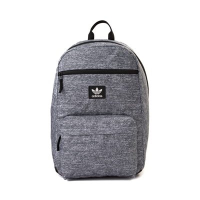Main view of adidas National Backpack - Heather Gray