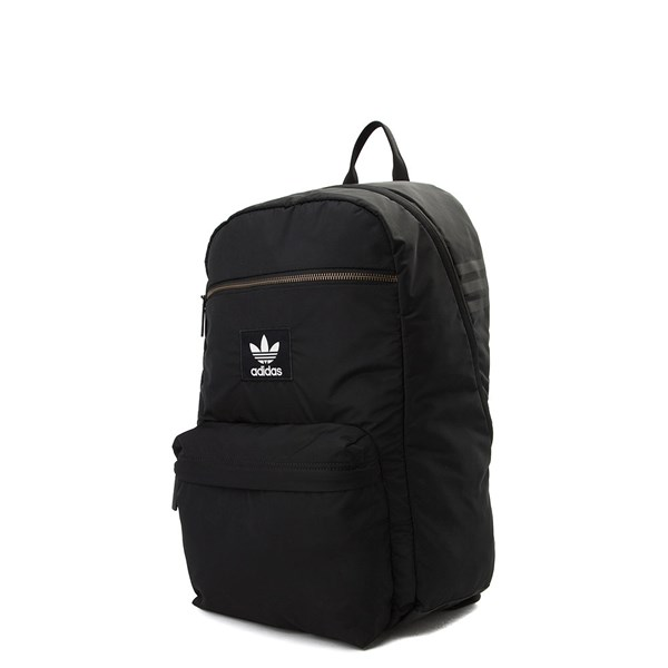 alternate view adidas National Plus Backpack - Black / WhiteALT2