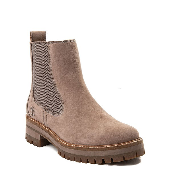 alternate view Womens Timberland Courmayeur Valley Chelsea Boot - TaupeALT1