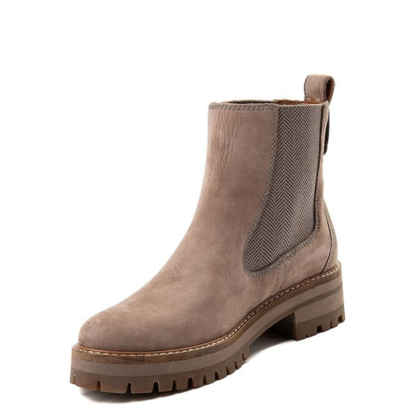 alternate view Womens Timberland Courmayeur Valley Chelsea Boot - TaupeALT3