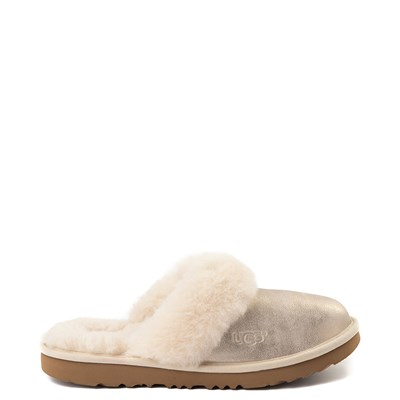 Main view of Youth/Tween UGG® Cozy II Metallic Slipper