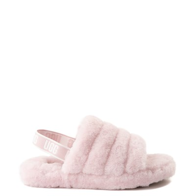 Main view of Youth/Tween UGG® Fluff Yeah Slide Sandal