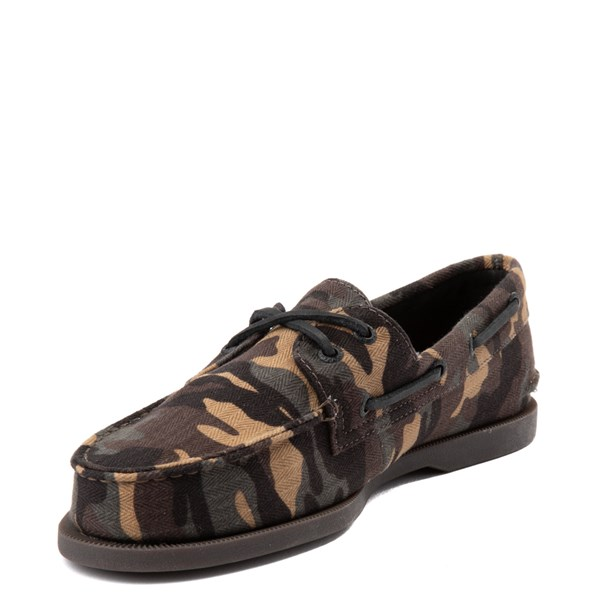 alternate view Mens Sperry Top-Sider Authentic Original Boat Shoe - CamoALT3