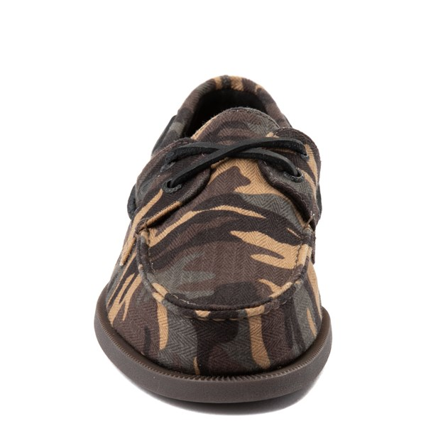 alternate view Mens Sperry Top-Sider Authentic Original Boat Shoe - CamoALT4