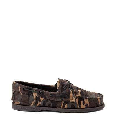 Main view of Mens Sperry Top-Sider Authentic Original Boat Shoe - Camo