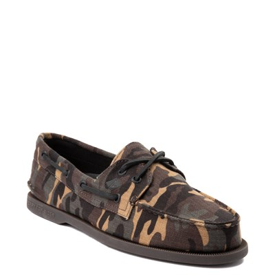 Alternate view of Mens Sperry Top-Sider Authentic Original Boat Shoe - Camo