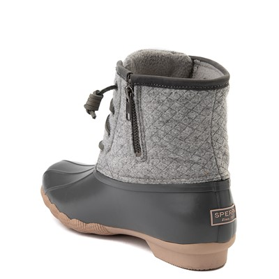 Alternate view of Womens Sperry Top-Sider Saltwater Wool Boot - Gray