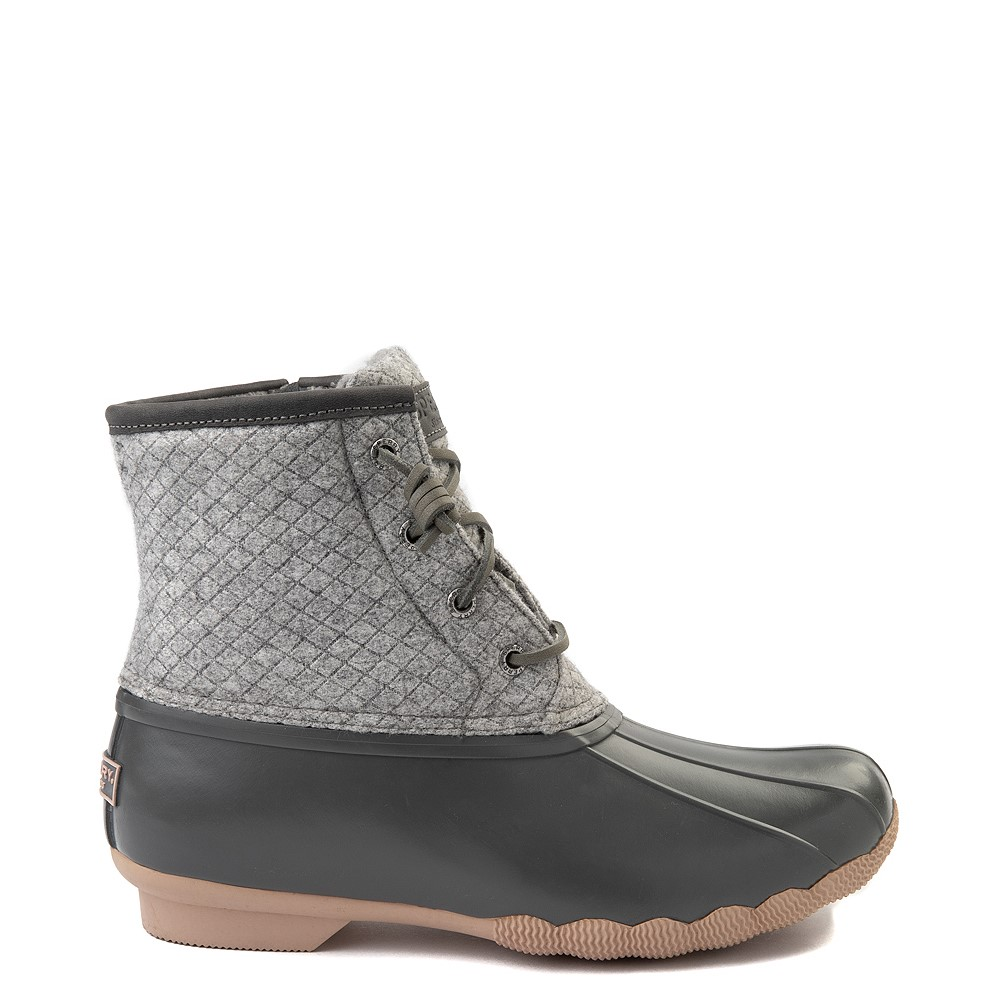 Womens Sperry Top-Sider Saltwater Wool Boot - Gray
