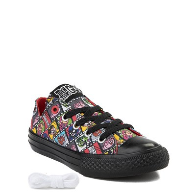 Alternate view of Youth Converse Chuck Taylor All Star Lo DC Comics Teen Titans Go! Sneaker