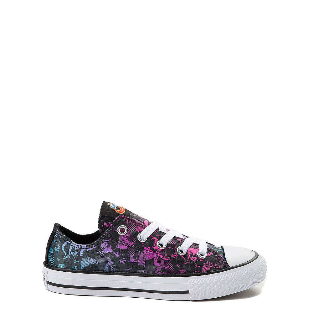 Youth Converse Chuck Taylor Lo DC Girl Superheroes Sneaker