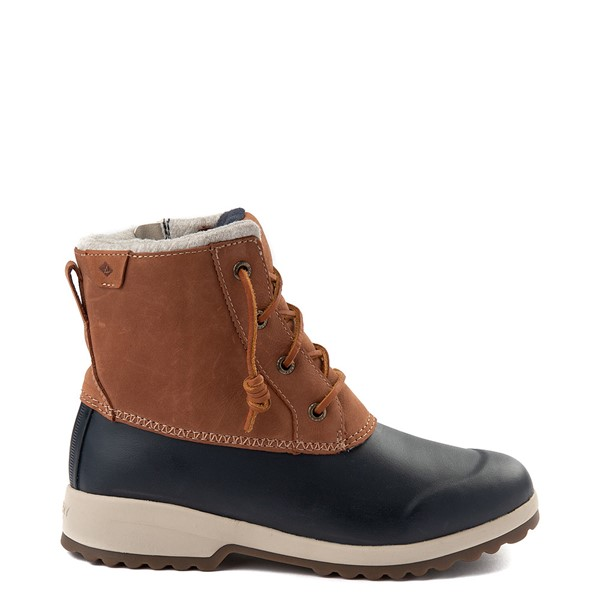 Womens Sperry Top-Sider Maritime Repel Boot - Tan / Navy