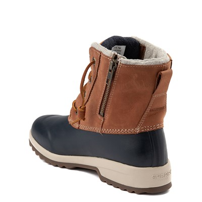 Alternate view of Womens Sperry Top-Sider Maritime Repel Boot - Tan / Navy