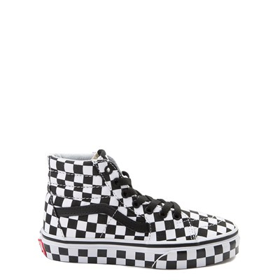 Youth Vans Sk8 Hi Full Chex Skate Shoe