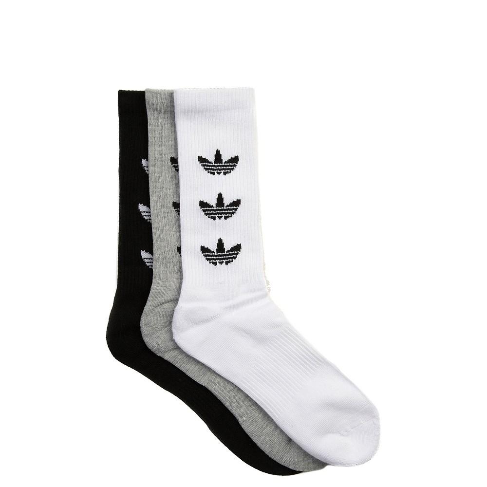 Mens adidas Trefoil Crew Socks 3 Pack