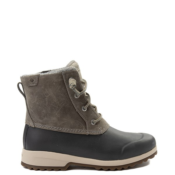 Main view of Womens Sperry Top-Sider Maritime Repel Boot - Gray