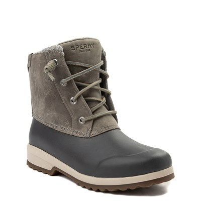 Alternate view of Womens Sperry Top-Sider Maritime Repel Boot - Gray
