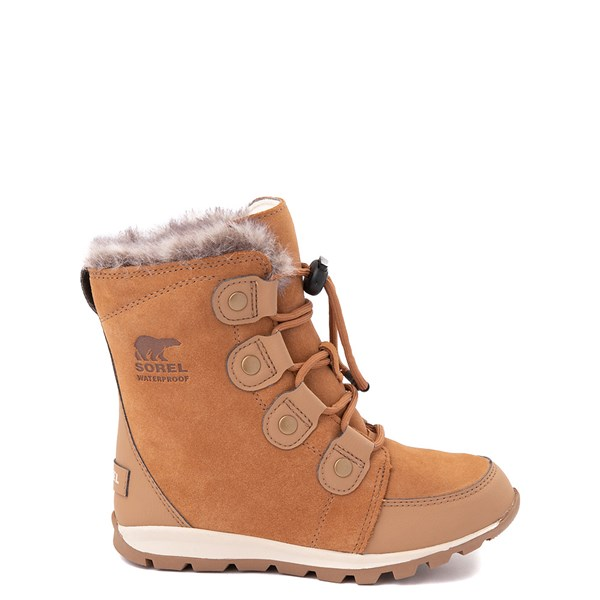 Sorel Whitney Suede Boot - Little Kid / Big Kid - Tan