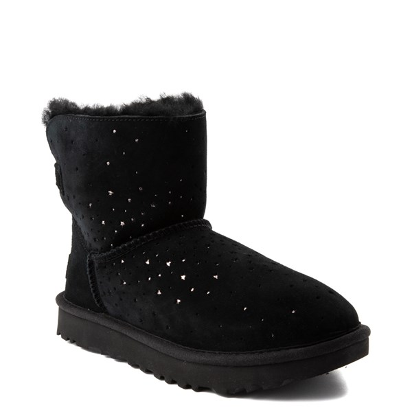 alternate view Womens UGG® Stargirl Mini Boot - BlackALT1