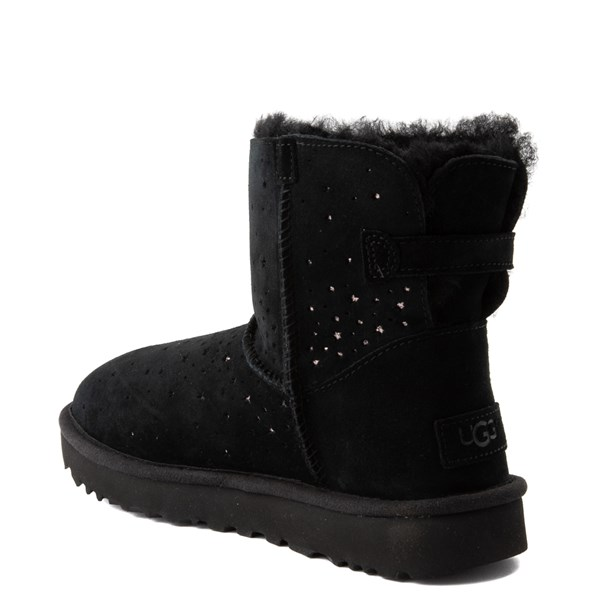 alternate view Womens UGG® Stargirl Mini Boot - BlackALT2