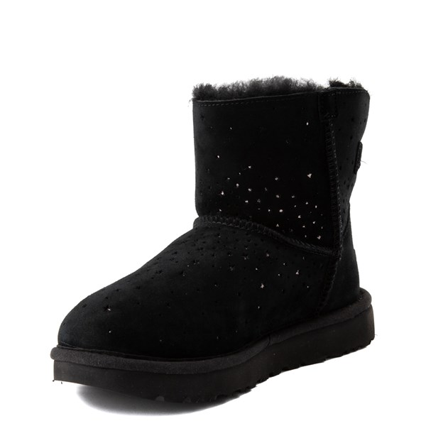 alternate view Womens UGG® Stargirl Mini Boot - BlackALT3