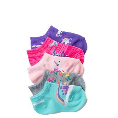 Main view of Girls Crib Whimsy Glow Socks 5 Pack