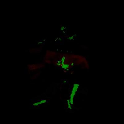 Alternate view of Girls Crib Whimsy Glow Socks 5 Pack