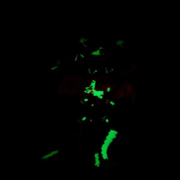 Alternate view of Whimsy Glow Socks 5 Pack - Girls Toddler