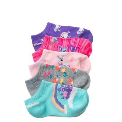 Main view of Whimsy Glow Socks 5 Pack - Girls Toddler