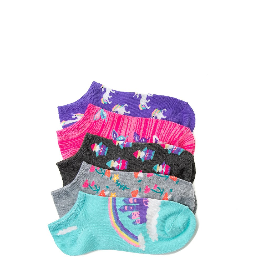 Girls Tween Whimsy Glow Socks 5 Pack