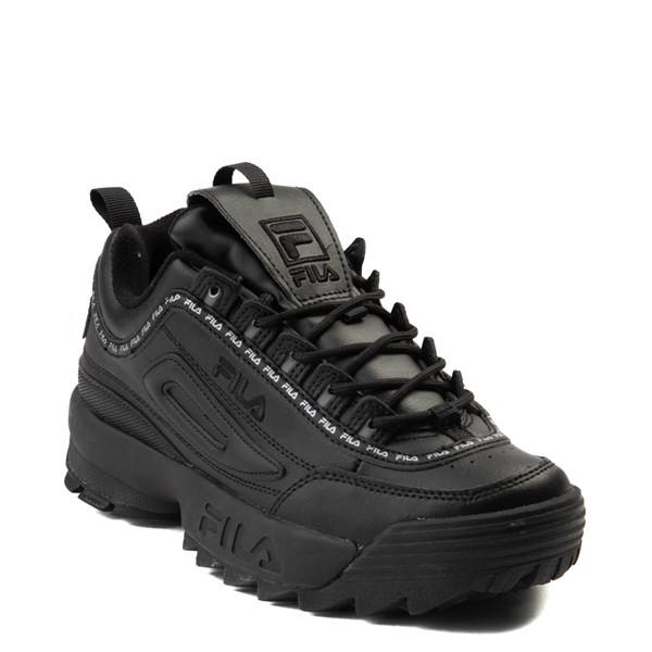 alternate view Womens Fila Disruptor 2 Athletic Shoe - BlackALT1