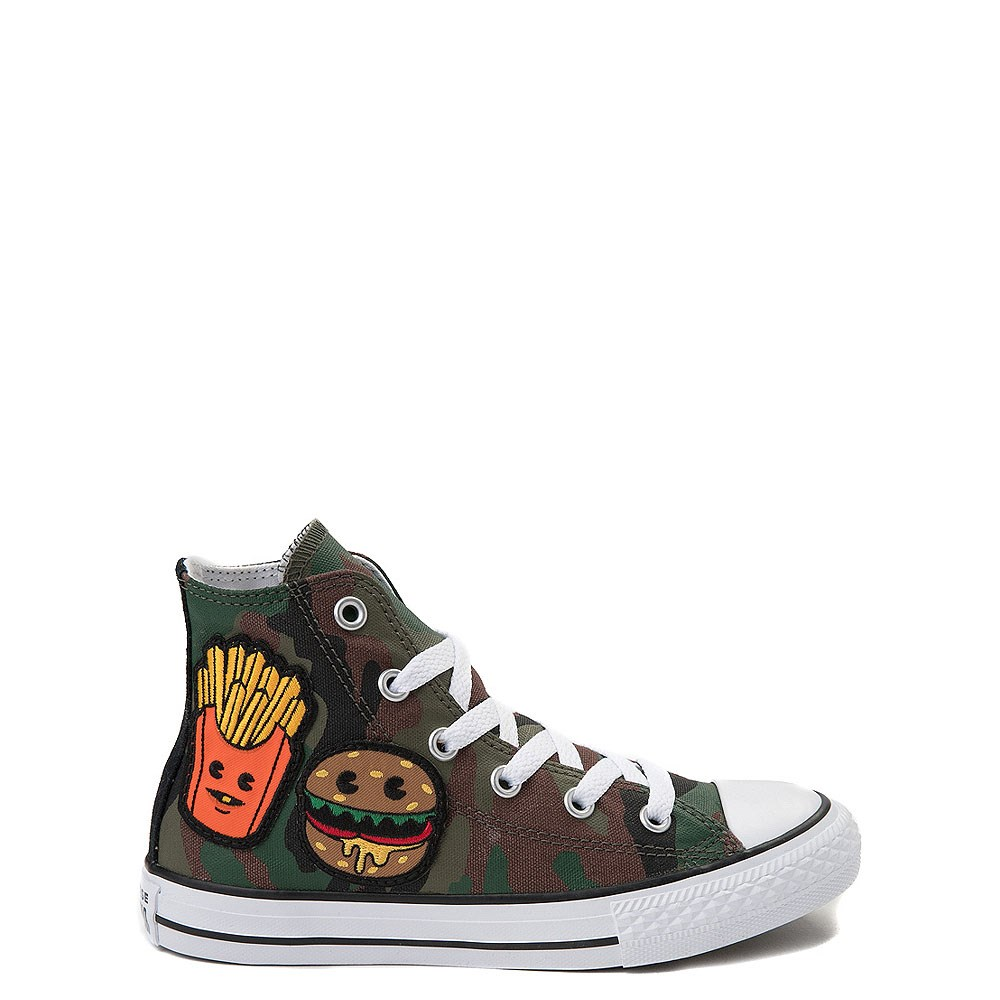 Youth Converse Chuck Taylor All Star Hi Patch Sneaker