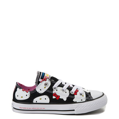 Main view of Youth Converse Chuck Taylor All Star Lo Hello Kitty® Sneaker