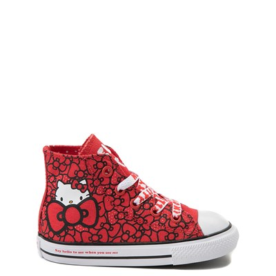 Main view of Toddler Converse Chuck Taylor All Star Hi Hello Kitty® Bows Sneaker