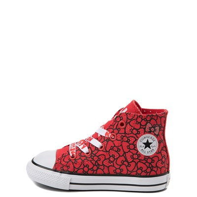 Alternate view of Converse Chuck Taylor All Star Hi Hello Kitty® Bows Sneaker - Baby / Toddler