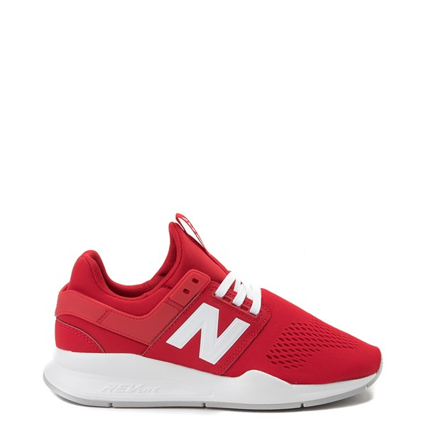 Womens New Balance 247 V2 Athletic Shoe - Red / White