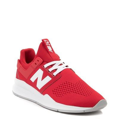 Alternate view of Womens New Balance 247 V2 Athletic Shoe - Red / White