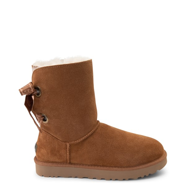 Womens UGG® Customizable Bailey Bow II Boot - Chestnut