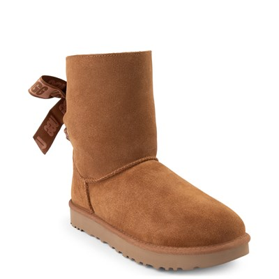 Alternate view of Womens UGG® Customizable Bailey Bow II Boot - Chestnut